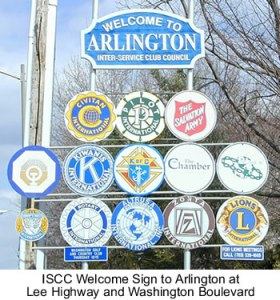 Welcome to Arlington Sign